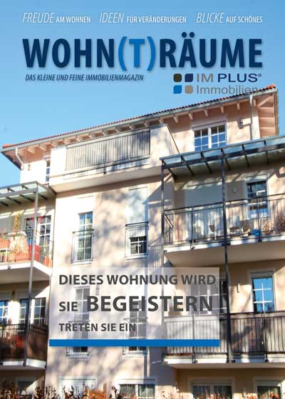 Expose Cover einer Eigentumswohnung in Traunstein