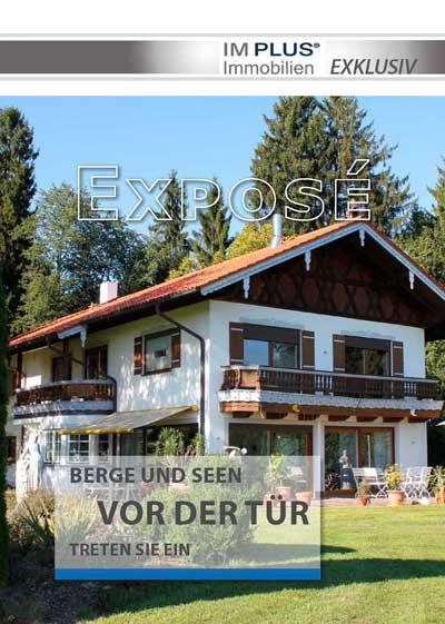Expose Cover - Landhausvilla am Simsee