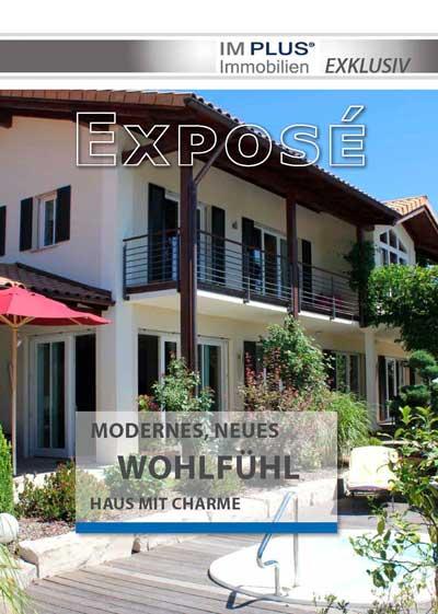Expose Cover - Einfamilienhaus vor den Toren Rosenheims in Stephanskirchen
