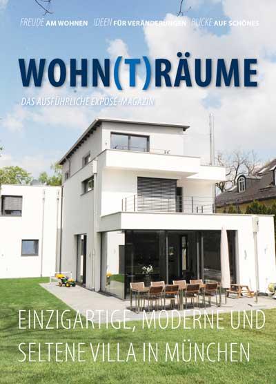 Expose Magazin - Villa im modernen Stil in Waldperlach