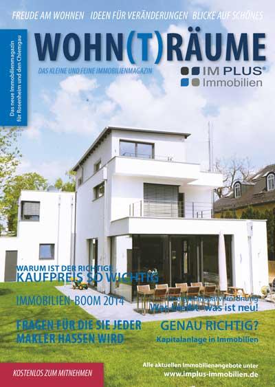 Immobilien Magazin Wohnträume vom Januar 2015