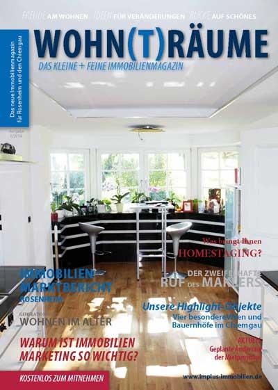 Immobilien Magazin Wohnträume - Innenansicht einer Immobilie in Rosenheim